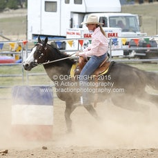 Merrijig APRA Rodeo 2015 - Junior Barrel Race - Slack 1