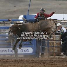 Merrijig APRA Rodeo 2015 - 2nd Div Bull Ride - Sect 1