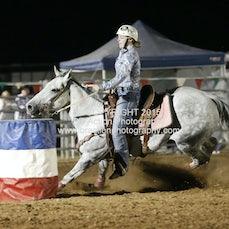 Merrijig APRA Rodeo 2015 - Junior Barrel Race - Sect 1