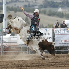 Merrijig APRA Rodeo 2015 - Junior Bull Ride - Sect 1