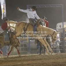 Merrijig APRA Rodeo 2015 - Saddle Bronc - Sect 1