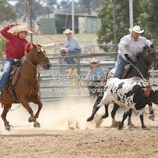 Merrijig APRA Rodeo 2015 - Team Roping - Sect 1