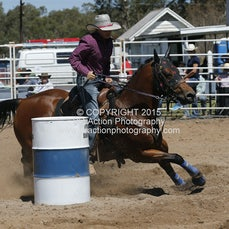 Chiltern APRA Rodeo 2015 - Barrel Race - Slack 1