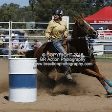 Chiltern APRA Rodeo 2015 - Junior Barrel Race - Slack 1