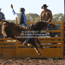 Chiltern APRA Rodeo 2015 - 2nd Div Bull Ride - Sect 1
