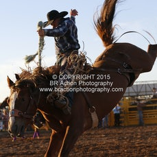 Chiltern APRA Rodeo 2015 - 2nd Div Saddle Bronc - Sect 1