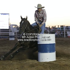 Chiltern APRA Rodeo 2015 - Barrel Race - Sect 1