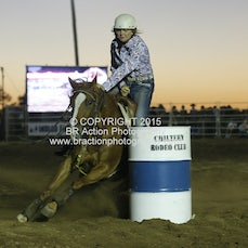 Chiltern APRA Rodeo 2015 - Junior Barrel Race - Sect 1