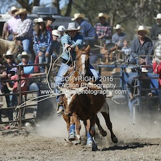 Great Western APRA Rodeo 2015 - Breakaway Roping - Slack 1