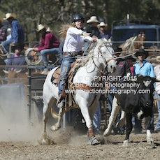 Great Western APRA Rodeo 2015 - Junior Breakaway Roping - Slack 1