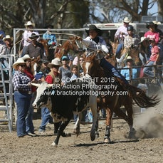 Great Western APRA Rodeo 2015 - Breakaway Roping - Slack 2