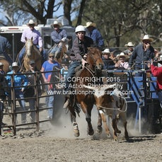 Great Western APRA Rodeo 2015 - Junior Breakaway Roping - Slack 2