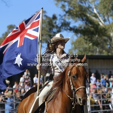 Great Western APRA Rodeo 2015 - Grand Entry