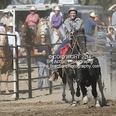 Great Western APRA Rodeo 2015 - Junior Breakaway Roping - Sect 1
