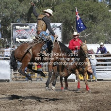 Great Western APRA Rodeo 2015 - 2nd Div Saddle Bronc - Sect 1