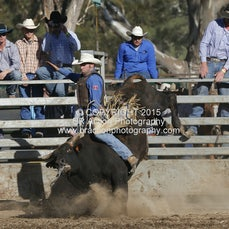Great Western APRA Rodeo 2015 - Open Bull Ride - Sect 1