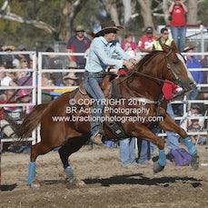 Great Western APRA Rodeo 2015 - Barrel Race - Sect 1