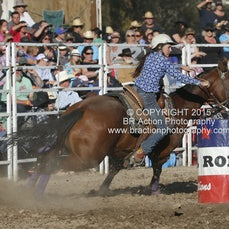 Great Western APRA Rodeo 2015 - Junior Barrel Race - Sect 1