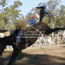 Great Western APRA Rodeo 2015 - Open Bareback - Sect 1