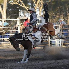 Great Western APRA Rodeo 2015 - 2nd Div Bareback - Sect 1