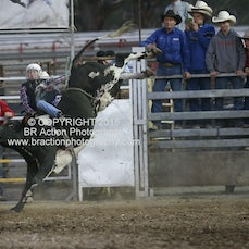 Great Western APRA Rodeo 2015 - 2nd Div Bull Ride - Sect 2