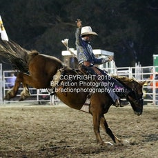 Great Western APRA Rodeo 2015 - Saddle Bronc - Sect 1