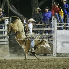 Great Western APRA Rodeo 2015 - Open Bull Ride - Sect 2