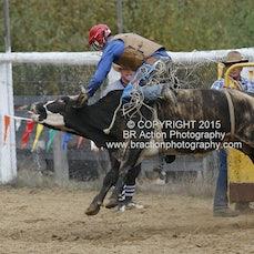 Buchan APRA Rodeo 2015 - 2nd Div Bull Ride - Sect 1