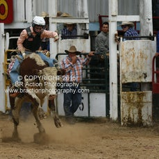Buchan APRA Rodeo 2015 - 2nd Div Bull Ride - Sect 2