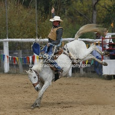 Buchan APRA Rodeo 2015 - 2nd Div Saddle Bronc - Sect 1