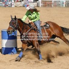 Buchan APRA Rodeo 2015 - Barrel Race - Sect 1