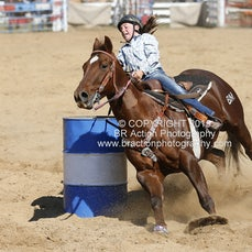 Buchan APRA Rodeo 2015 - Junior Barrel Race - Sect 1
