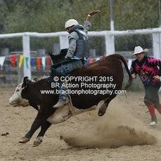 Buchan APRA Rodeo 2015 - Junior Steer Ride - Sect 1