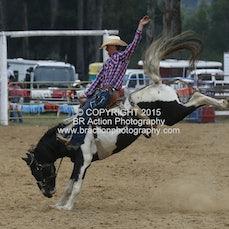 Buchan APRA Rodeo 2015 - Saddle Bronc - Sect 2