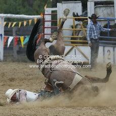 Buchan APRA Rodeo 2015 - Saddle Bronc - Sect 2 - Reride