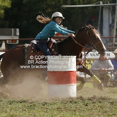 Lang Lang APRA Rodeo 2015 - Junior Barrel Race - Slack 1