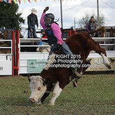 Lang Lang APRA Rodeo 2015 - Junior Steer Ride - Sect 1
