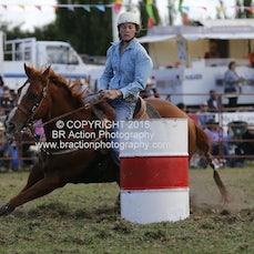 Lang Lang APRA Rodeo 2015 - Junior Barrel Race - Sect 1