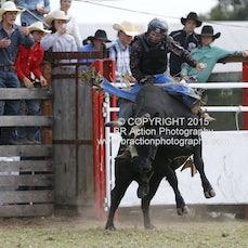 Lang Lang APRA Rodeo 2015 - Open Bull Ride - Sect 1