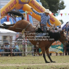 Lang Lang APRA Rodeo 2015 - Saddle Bronc - Sect 1