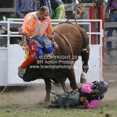 Lang Lang APRA Rodeo 2015 - 2nd Div Bull Ride - Sect 1_1