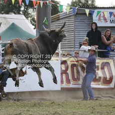 Lang Lang APRA Rodeo 2015 - Open Bull Ride - Sect 2