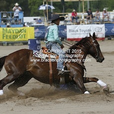 NFR 2015 - Round 4 Barrel Race