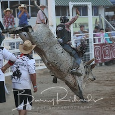 2nd Div Bull Ride - Feature Bull