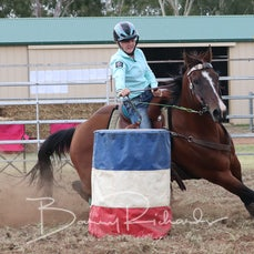 Junior Barrel Race - Slack 1