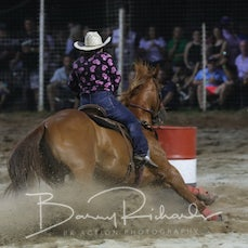 Open Barrel Race - Sect 1