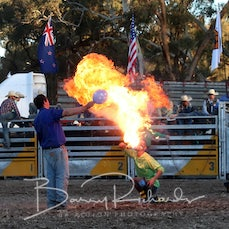 Kelpie - Fire Eater Comedy Act