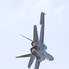 FA-18A Hornet - Solo Jet Handling Display