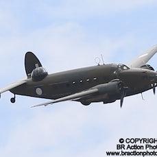 Large Vintage Aircraft Demo