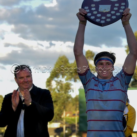 1st XV Grand Final - Chev went into the ISA Div II Grand Final against All Saints as Minor Premiers.